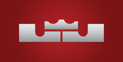 timeless design e882f b0973 LeBron James Logo