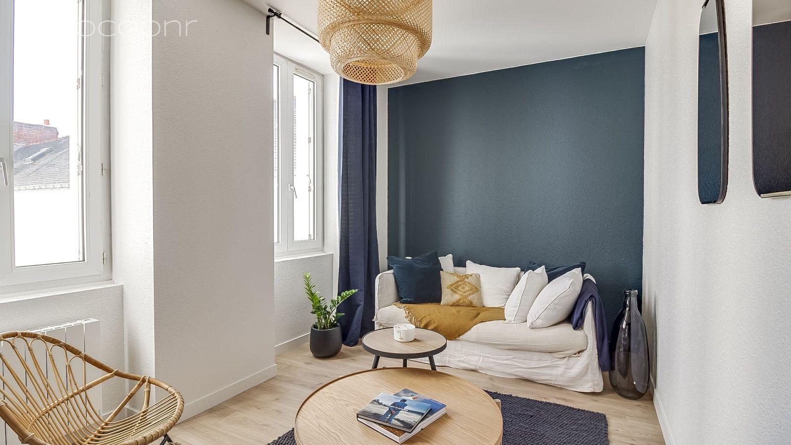 Le Carre Bleu Nantes Appartement A Louer A Nantes Louer Un Appartement Carre Bleu Decoration Maison