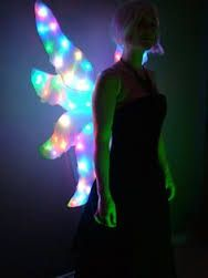 Image Result For Glow In The Dark Fairy Wings Fairy Wings Costume Light Up Wings Costume