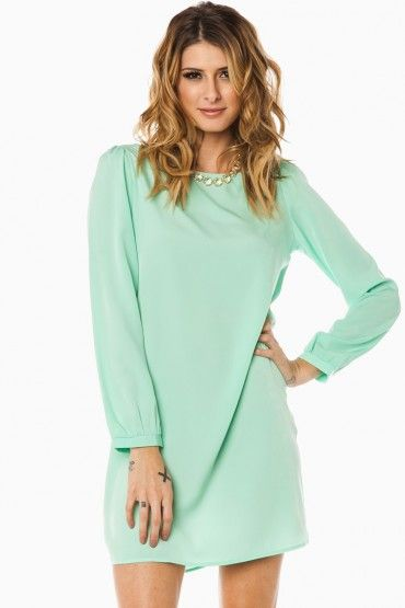 Middleway Shift Dress in Mint | spinach & other cool things ...