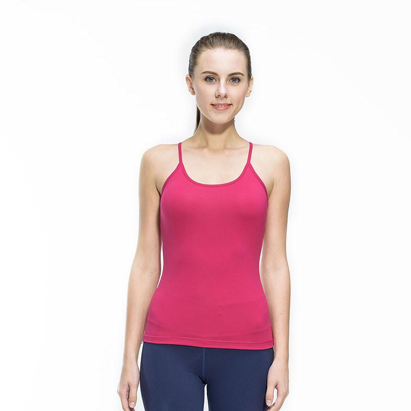 22ef4088f768d Women Fitness Gym Sports Yoga Vest Sexy Sleeveless Shirts Running Clothes  with Breathable Quick Dry Spandex Tank tops