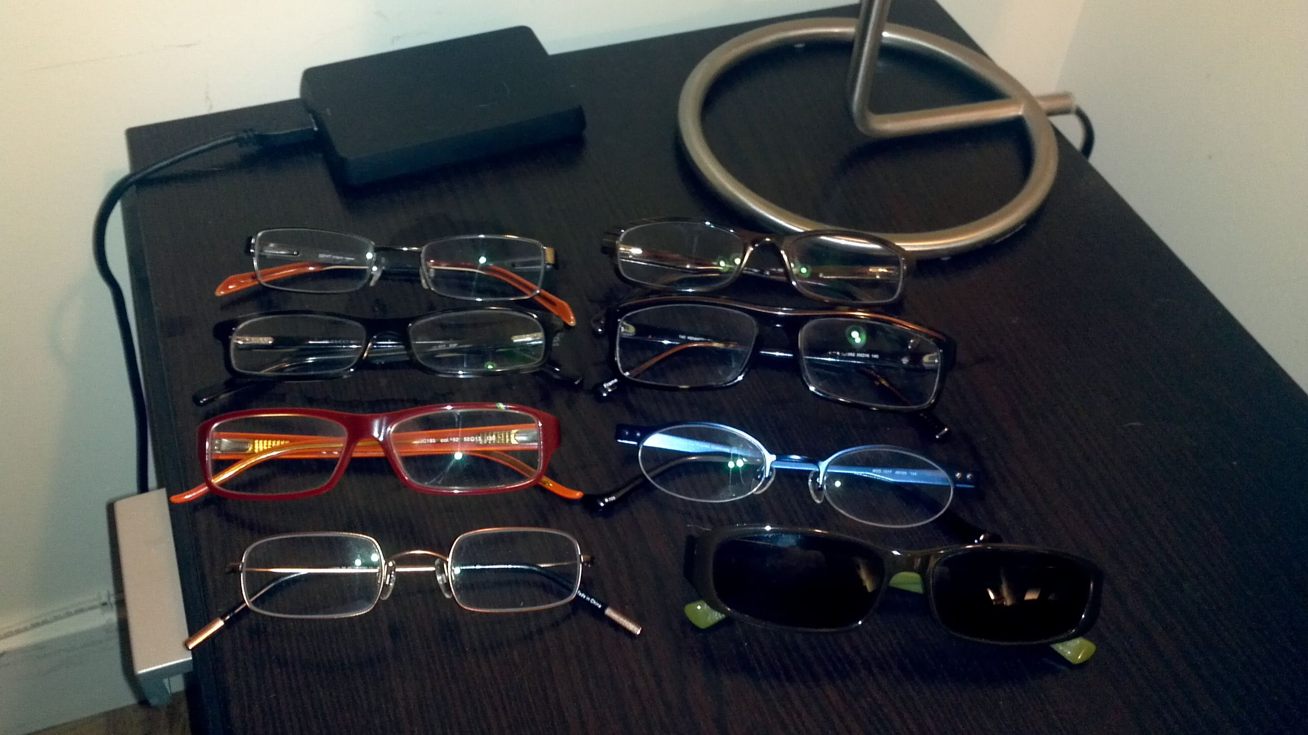 Clearly, I've got a problem buying inexpensive glasses...