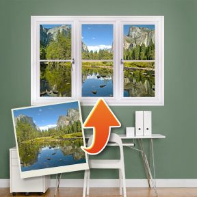 Custom Instant Window Your Favorite View So Clever Photos - Custom vinyl decals buffalo ny