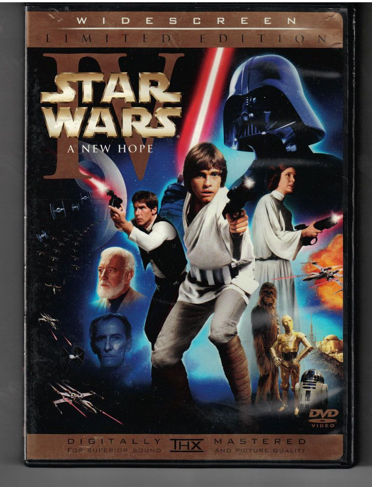 Star Wars Episode Iv A New Hope Limited Edition 2 Dvd Set W Theatrical Rare Star Wars Episode Iv Star Wars Episode 4 Star Wars Dvd