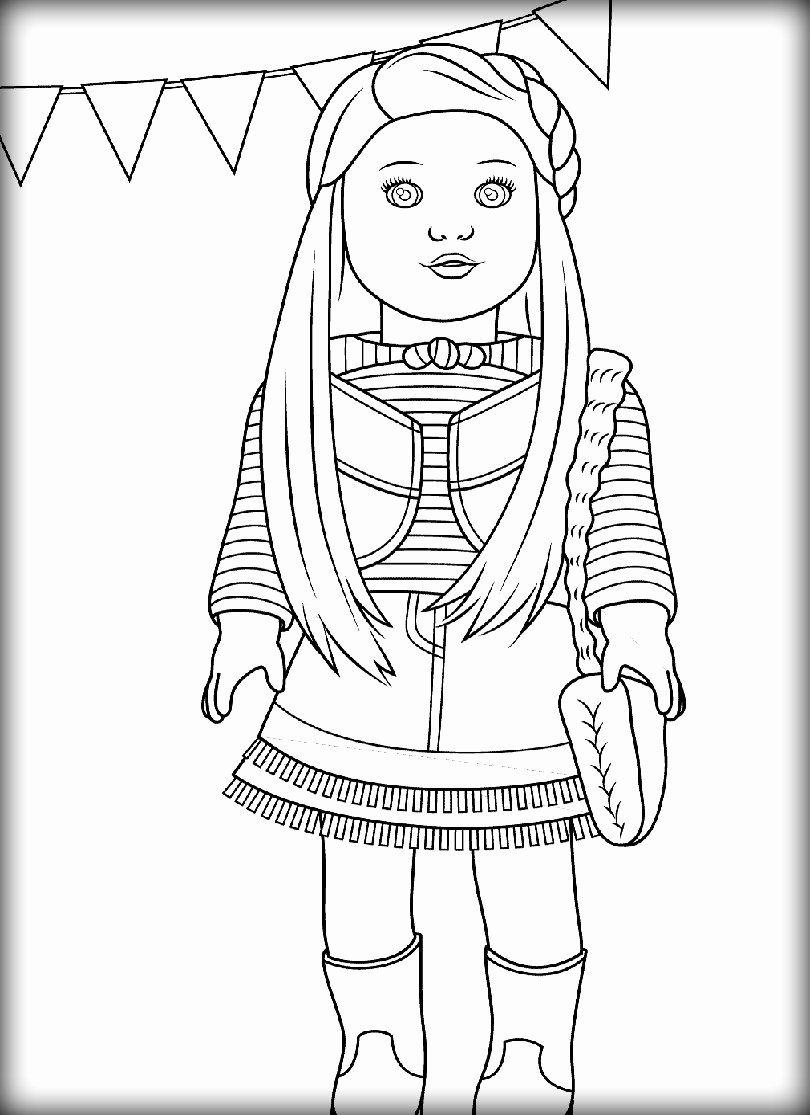 American Girl Doll Coloring Page Lovely American Girl Doll Coloring Pages Coloring American Girl Doll Pictures Coloring Pages For Girls Coloring Pages To Print