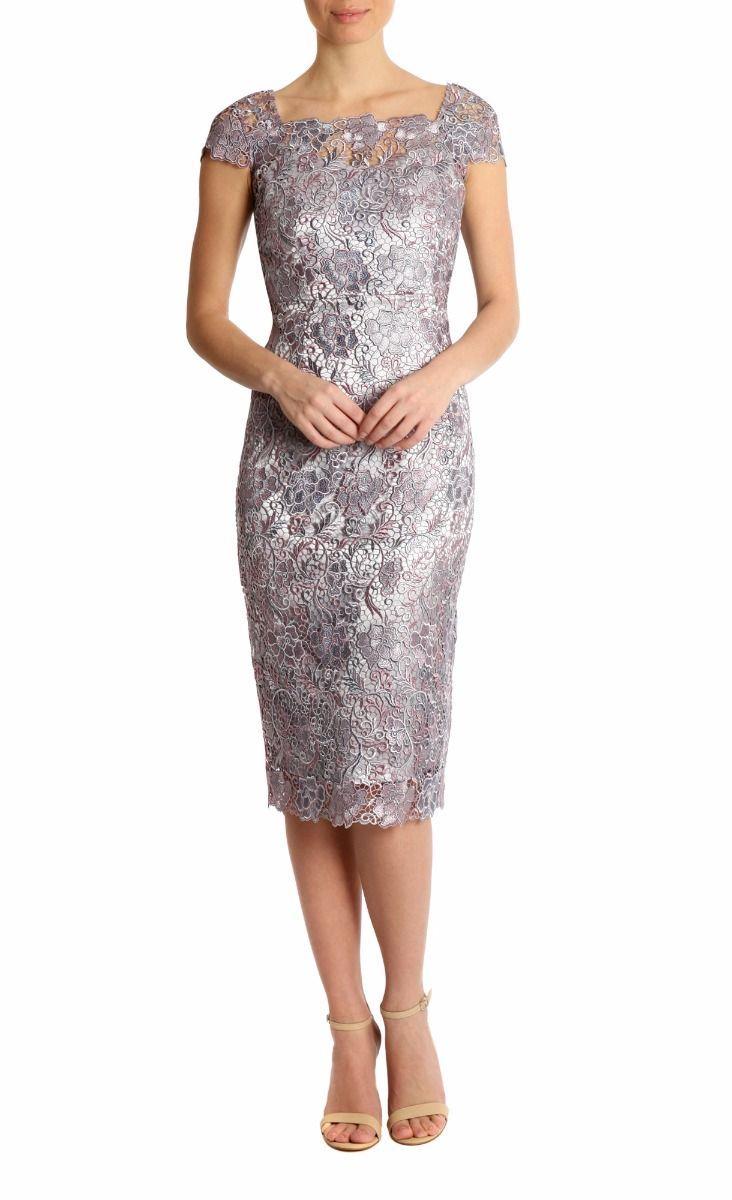 Elderberry Lace Dress