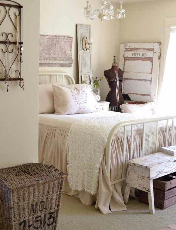 Shabby chic Decor ideas Pinterest Cosas para el hogar, La casa - decoracion recamara vintage
