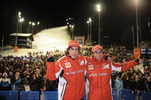 .......Adrenalina pura e alta velocità sulle piste di Madonna di Campiglio con i team Ferrari e... pinned with Pinvolve