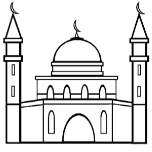 Coloring Mosque Masjid 1mobile Almasjid Cute Rhpinterest: Coloring Pages Masjid At Baymontmadison.com