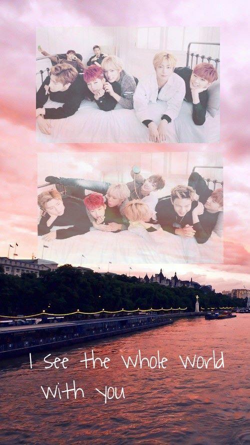 Pastel Monsta X Wallpaper Iphone