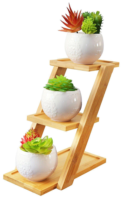 Amazon Com Jusalpha White Ceramic Modern Decorative Small 400 x 300