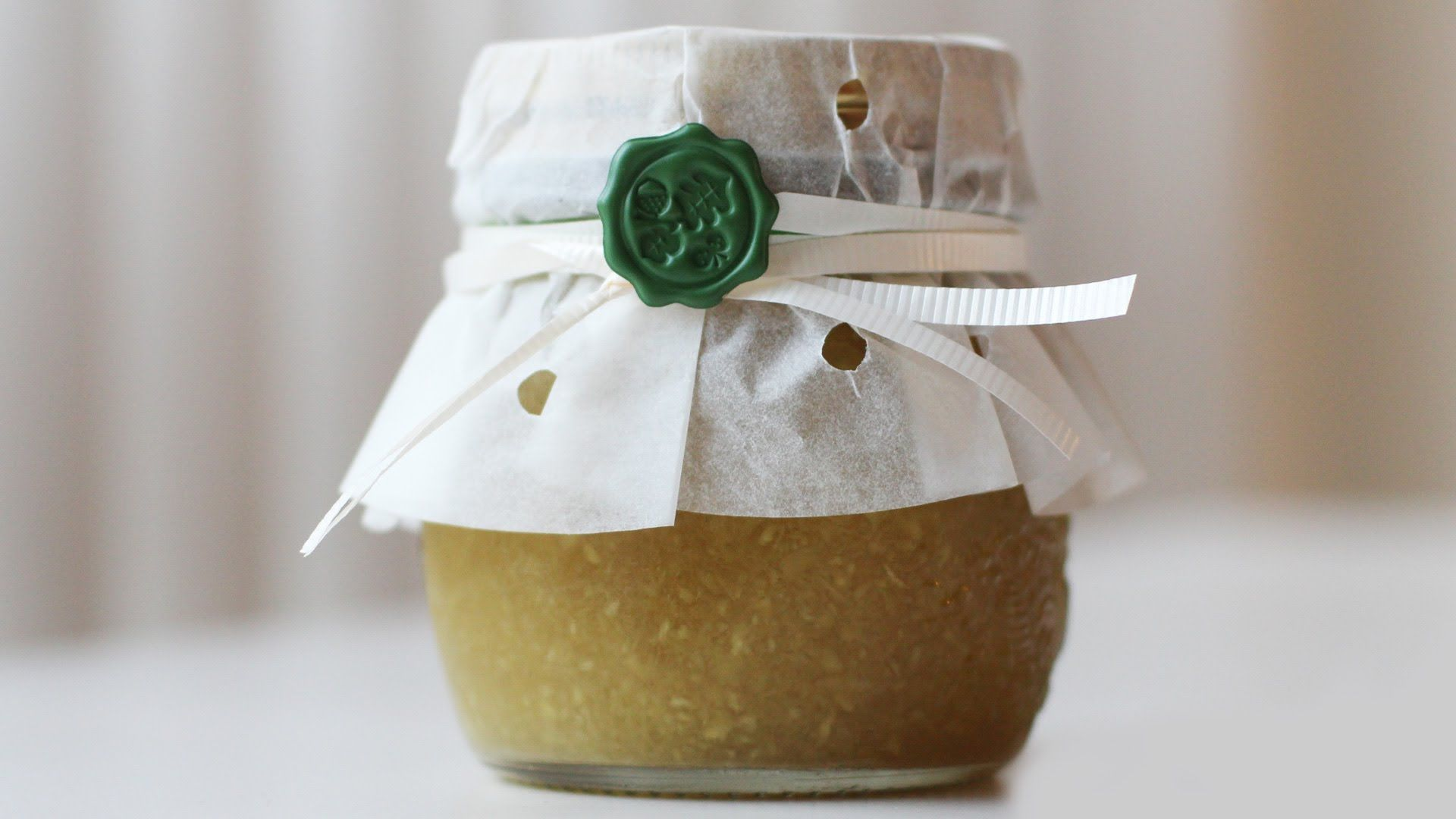 How to make ginger tea (saenggangcha). http//www.maangchi