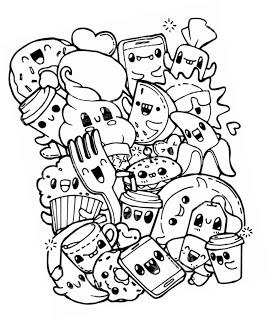 15 Kawaii Malvorlagen Zum Drucken Und Ausmalen Food Coloring Pages Mermaid Coloring Pages Pokemon Coloring Pages