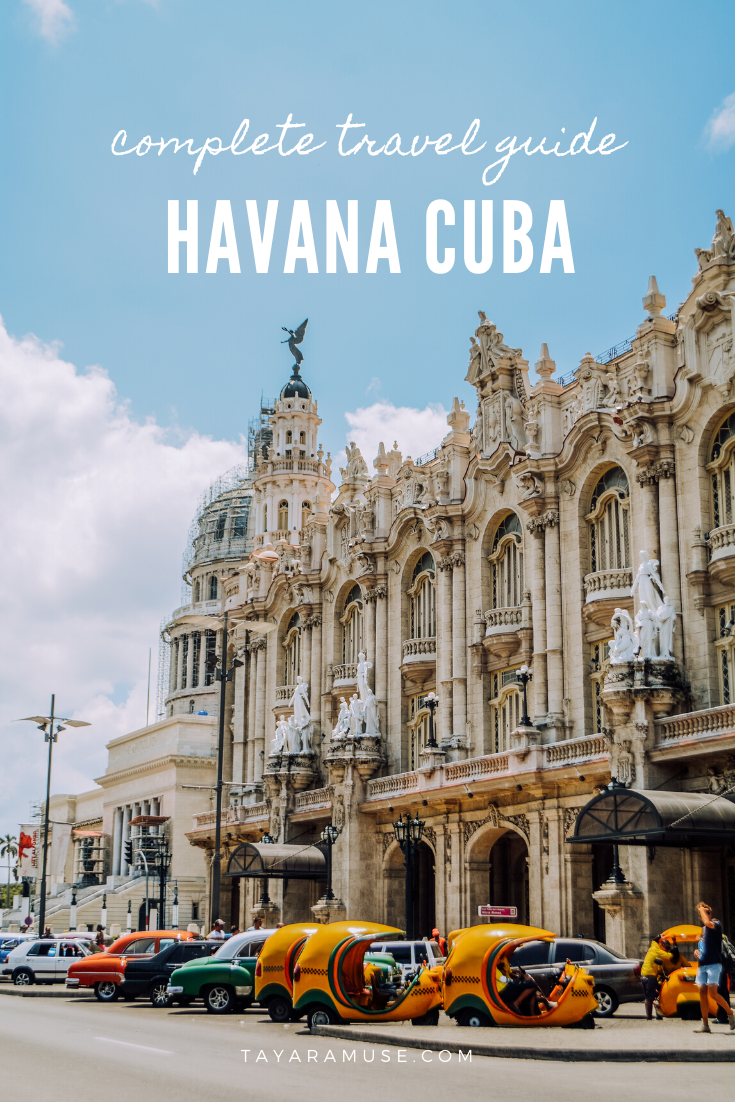 Best things to do in and around Havana, best cultural sites and attractions, hidden gems in Havana, how to spend a weekend in Cuba and more! #CubaTravel #