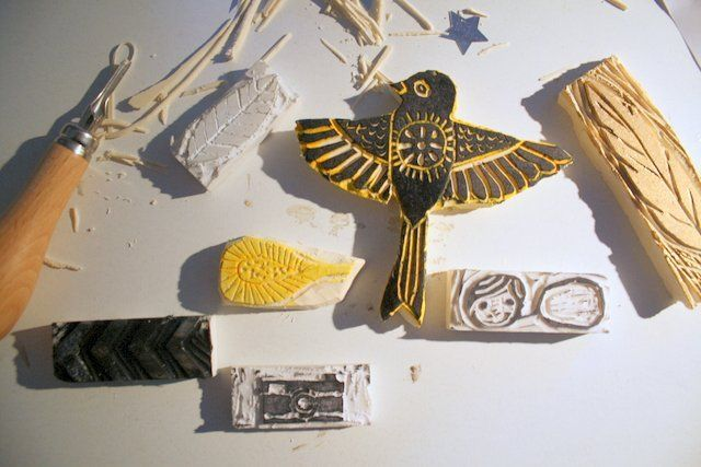 Stempel Selber Schnitzen Von © Brit Für Www.danipeuss.de