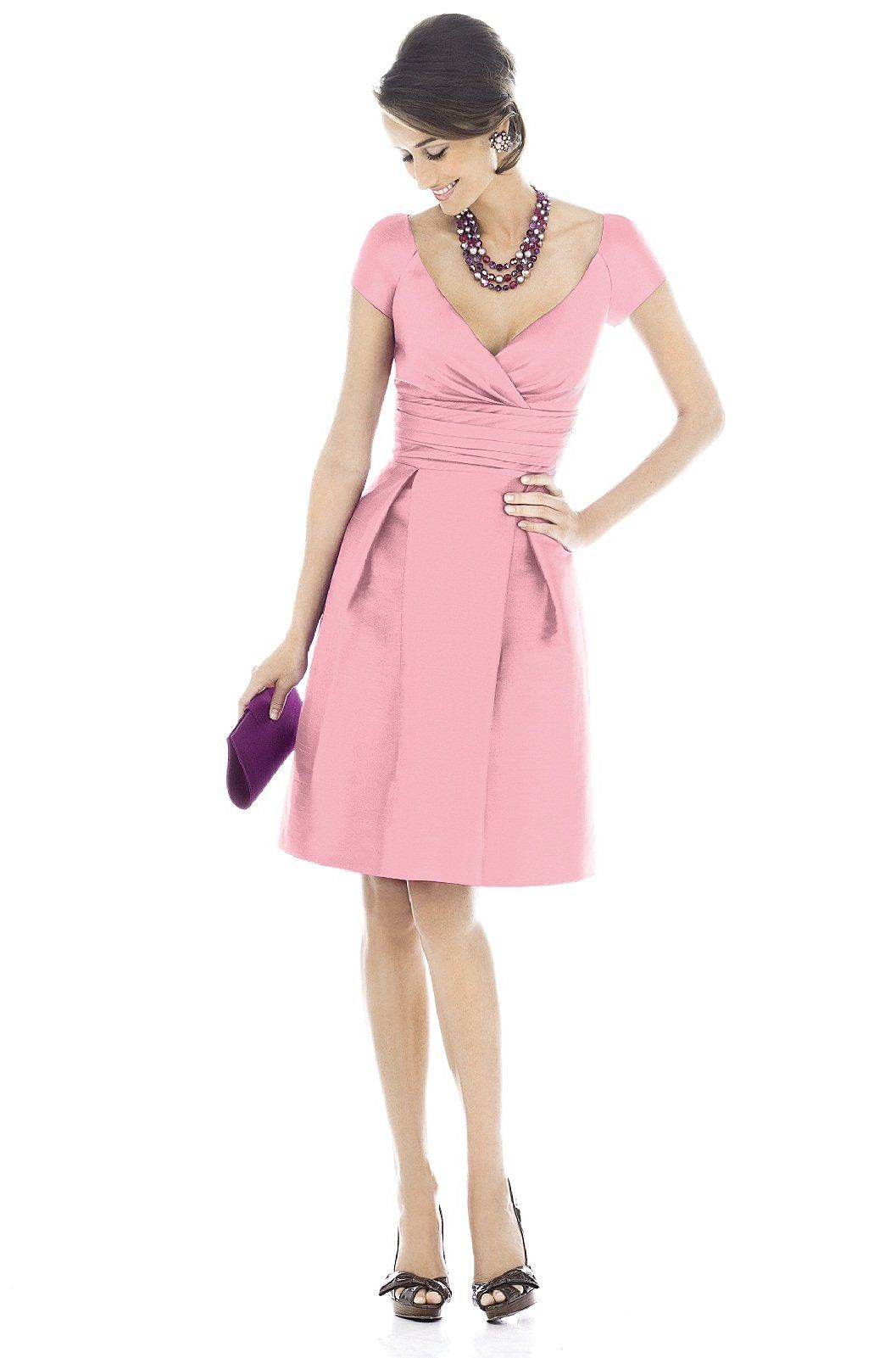 Alfred Sung Bridesmaid Dress | Weddington Way in Twirl | Wedding ...