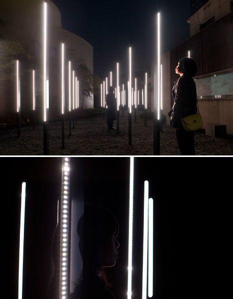 Bright Lights, Big City: 15 (More!) Light Art Installations | WebUrbanist #lightartinstallation