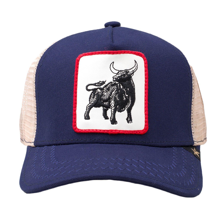 a7031f9b1 GOLD STAR Bull Trucker Hat | Purple | Products | Hats, Black trucker ...