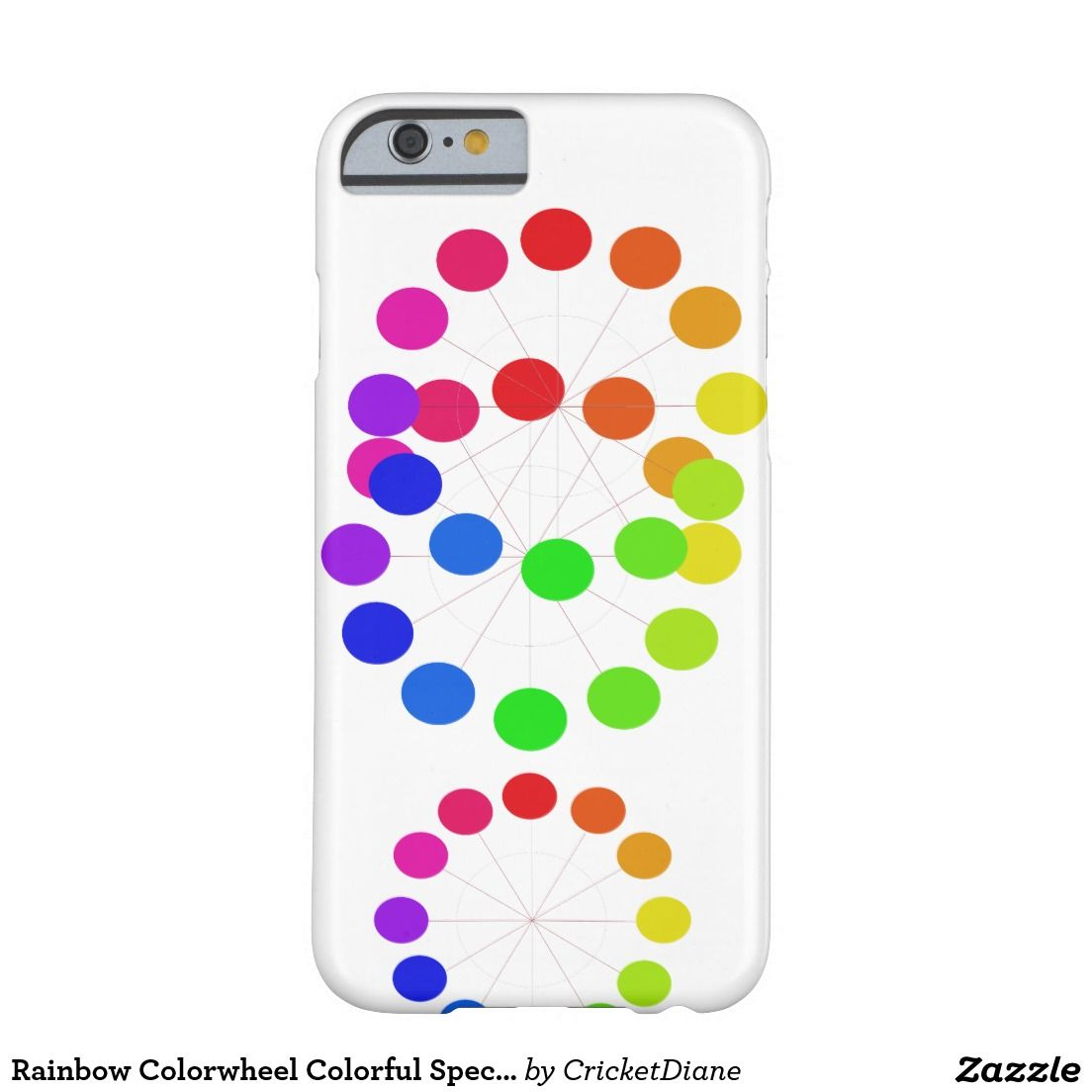 Rainbow Colorwheel Colorful Spectrum Colors Pride Barely There iPhone 6 Case
