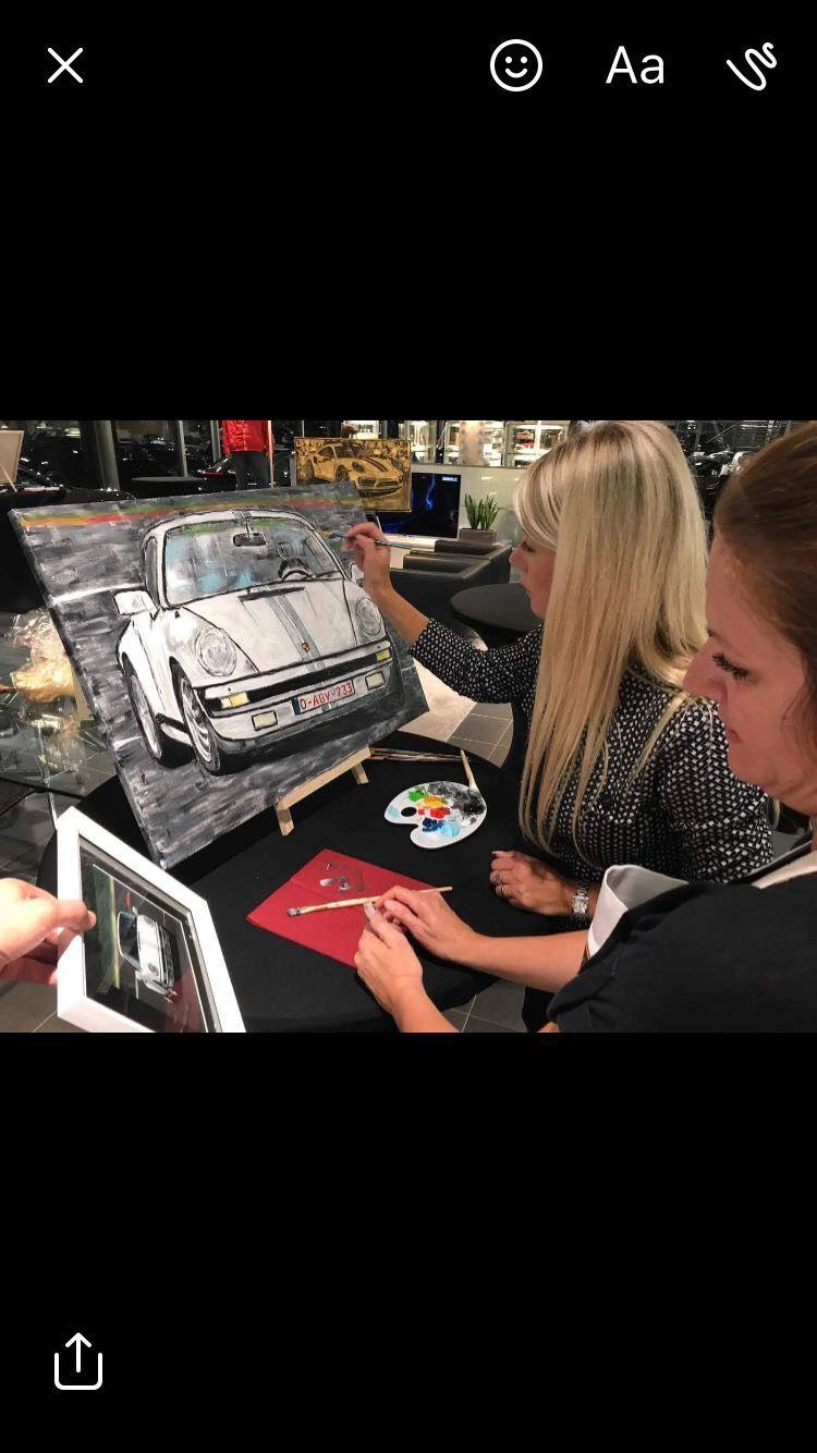 Fine Cars Fine Art Fine Food Event By Tanja Stadnic