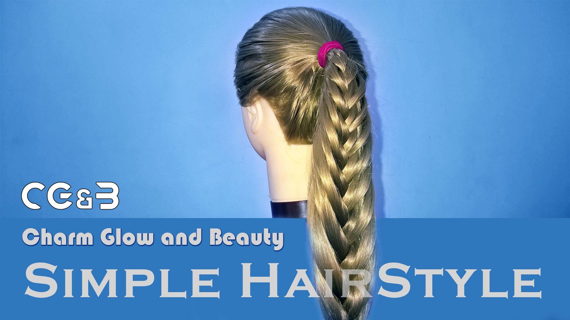 Chote Balo Ki Easy Hairstyle - Best Hairstyles Ideas
