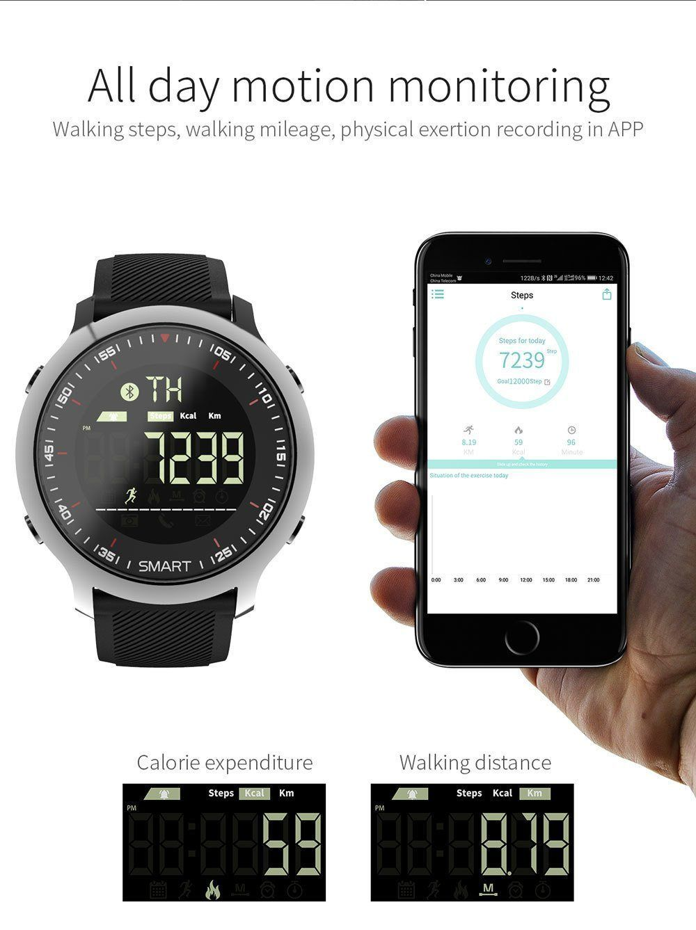 New Ip67 Waterproof Smartwatch Support Call And Sms Alert Sports Activities Tracker Wristwatch For Ios Android Phones Smart Watch Top Smart Watches Activity Tracker