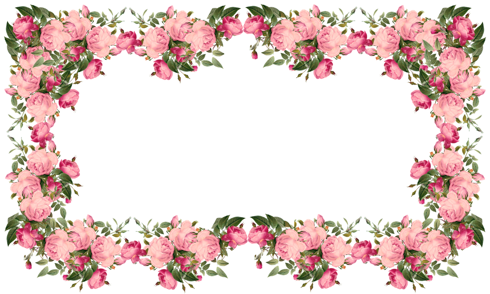 Free Faux Vintage Roses Frame And Borders Png Rosenrahmen Png Freebie Meinlilapark Diy Printables And Down Rose Frame Vintage Roses Boarders And Frames