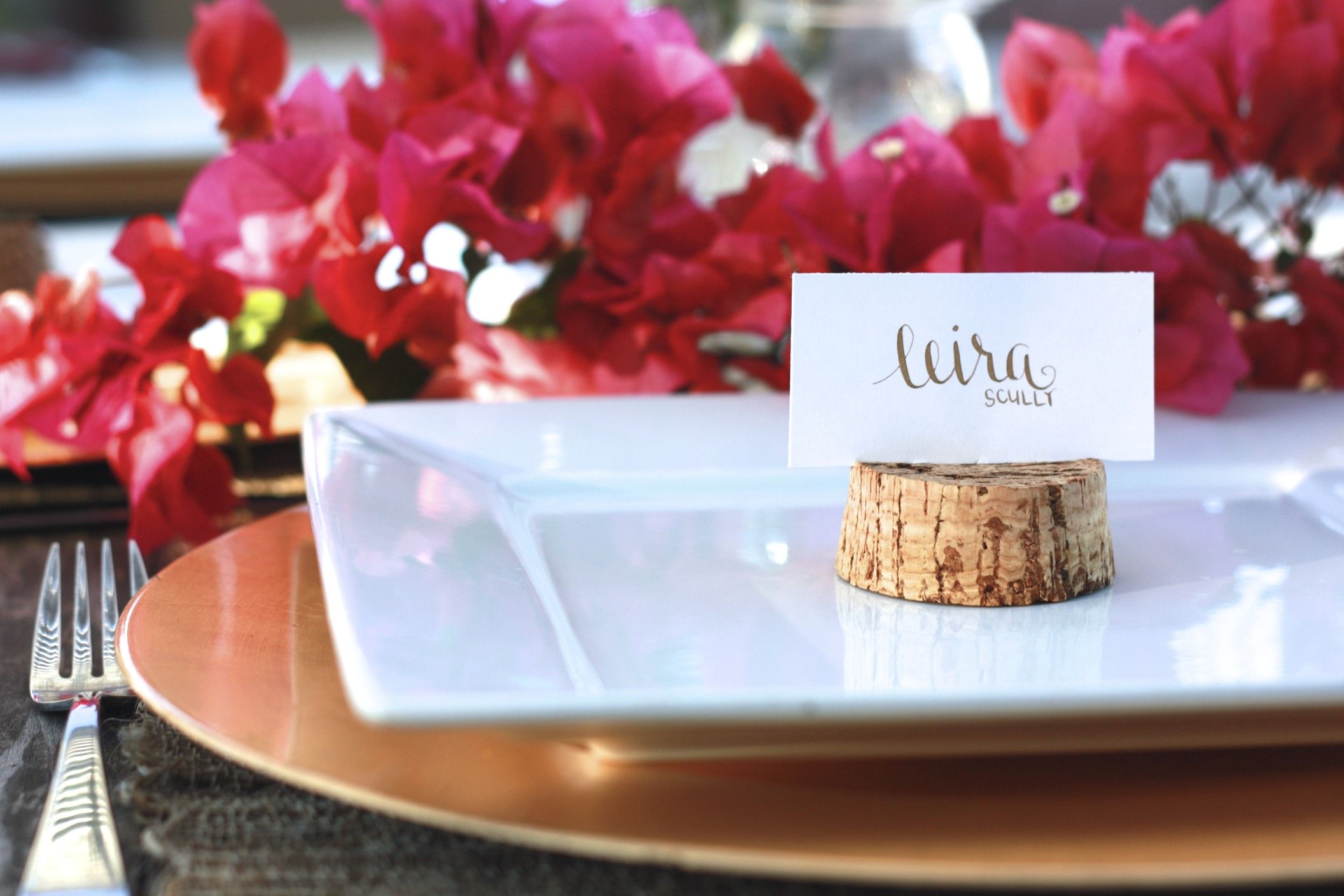 Dinner Party Name Ideas Part - 23: Wedding Place Cards - Escort Card - Gold / Black Calligraphy - Dinner Party  - Name