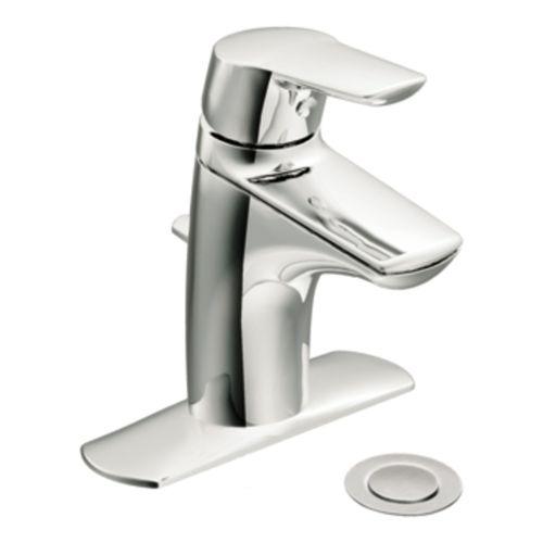 Moen 6810bn Single Handle Single Hole Bathroom Build Com Single Handle Bathroom Faucet Low Arc Bathroom Faucet Bathroom Faucets Moen single handle bathroom faucet