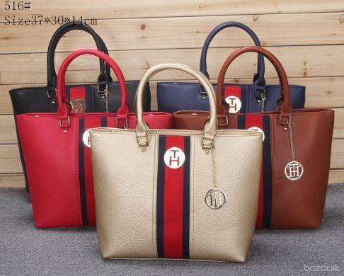 313553777 Predám kabelku TH. Rozmery 37cm x 30cm x 14cm. Kontaktovať emailom, číslo  vymyslené.