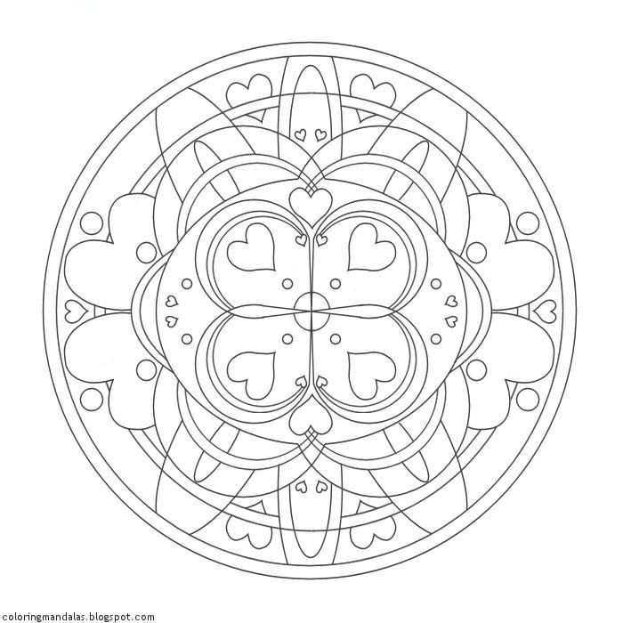 Coloring Mandalas: Loving Guidance | mandalas | Pinterest | Mandalas ...
