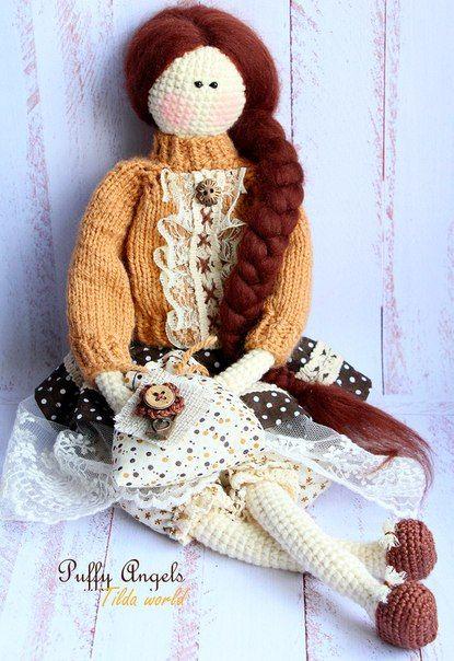 Amgurumi Tilda Doll-Free Pattern (Amigurumi Free Patterns) | Häkeln ...