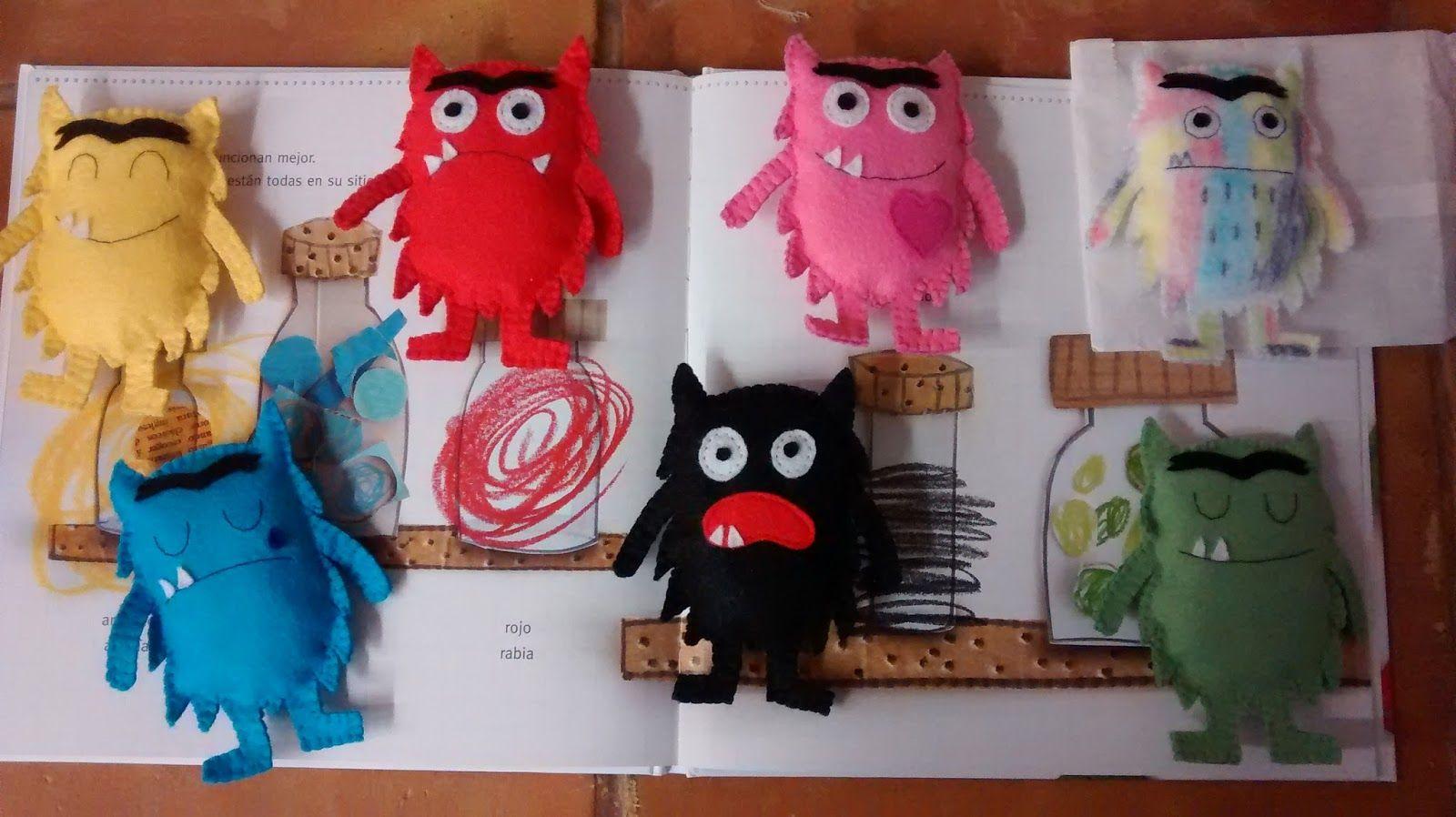 Un mundo por tus pensamientos: Set de El monstruo de colores ...