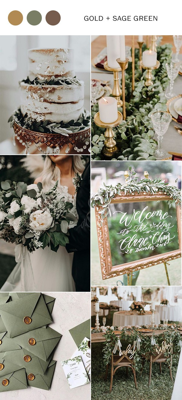 Photo of Fall Wedding Colors 2020 – Top 10 Color Combination Ideas You'll Love – Oh, Best of All …