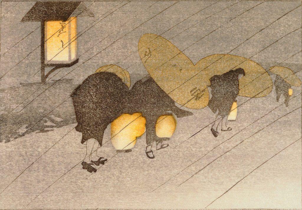 Rainy Twilight, Bertha Lum