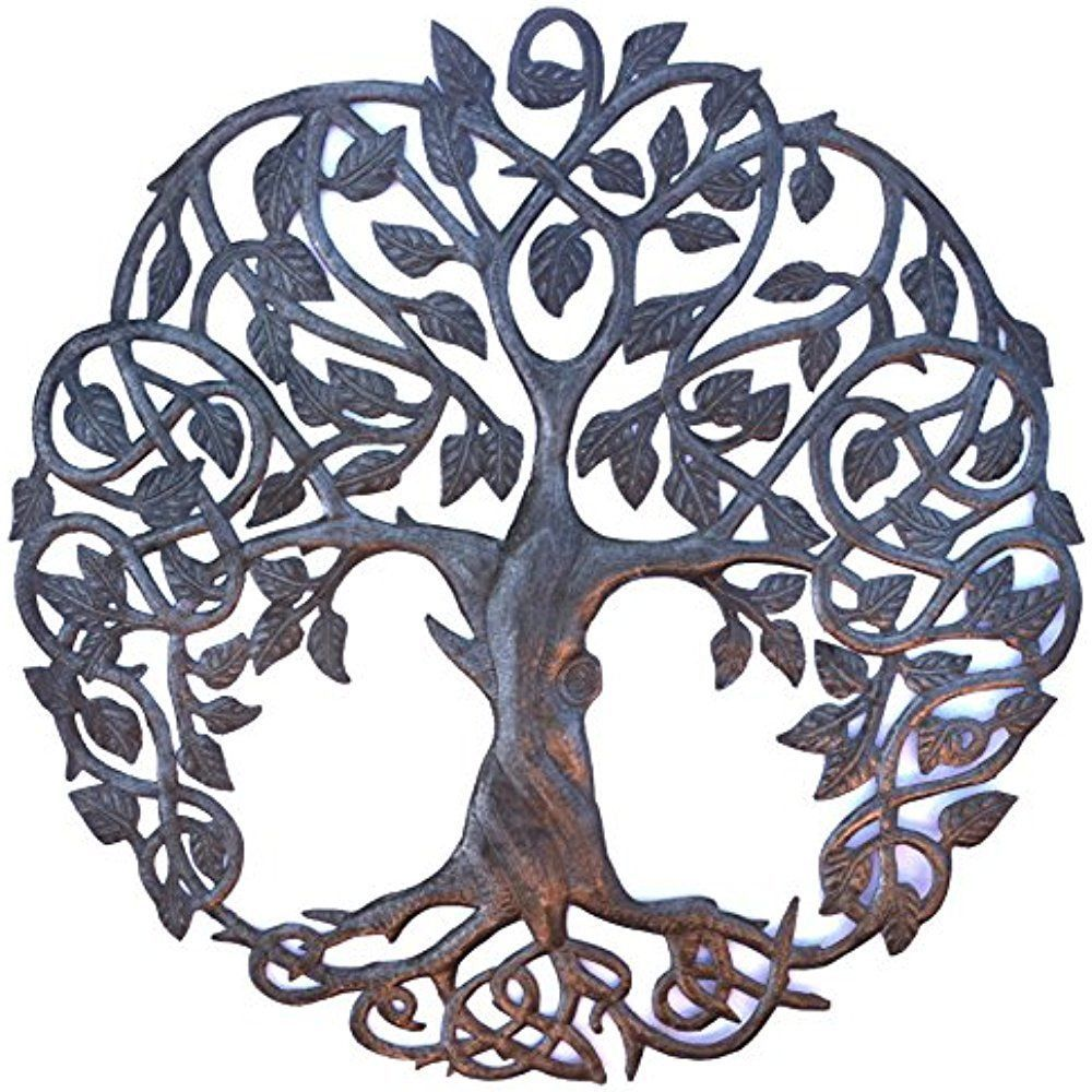 23 New Design Celtic Inspired Tree Of Life Metal Hand Craft Art