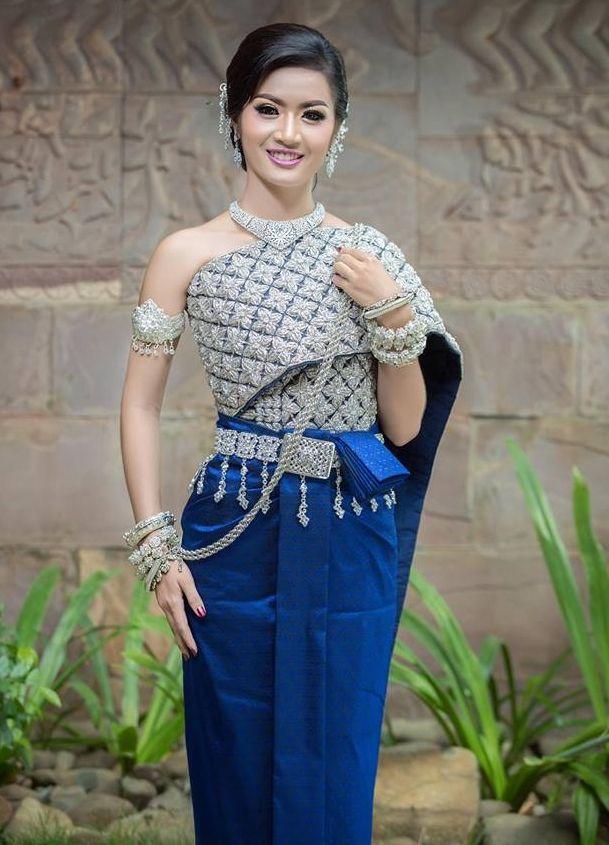 f25211eaa khmer wedding costume | cambodia/khmer wedding dress in 2019 ...