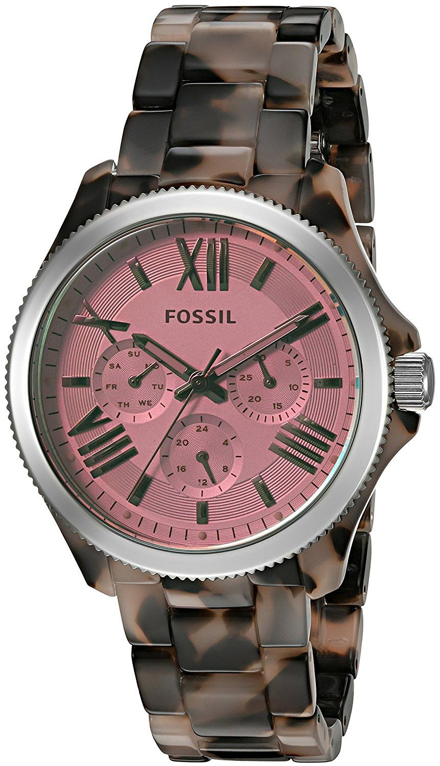 Fossil Watches For Women Black Dede14 Cecile Multifunction Stainless Steel And Acetate Watch Am 4632 Womens Am4643 Tortoise You Can Get Additional