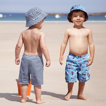 Swim Shorts With Nappy, Baby Sun and Swimwear, Baby