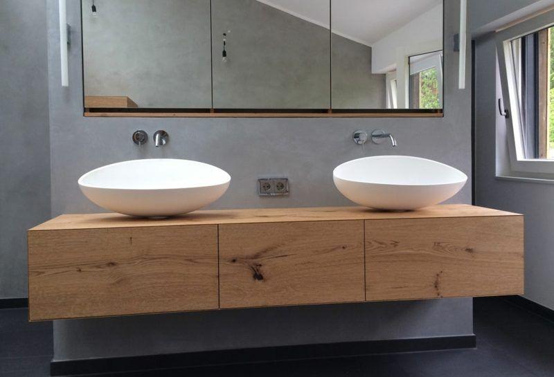 Waschtisch Mit Zwei Waschbecken Waschtisch Selber Bauen