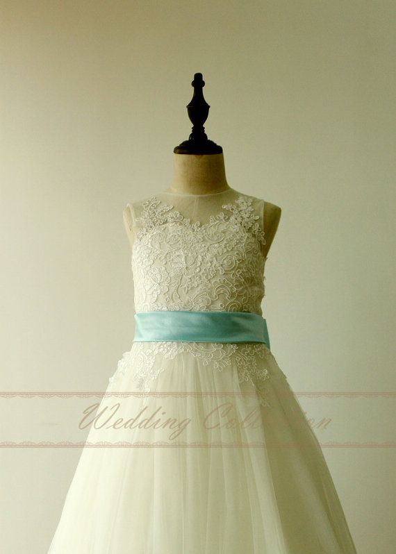 Fabric Tulle Lace Embellishment Sash And Bow Silhouette Al Ine Strap