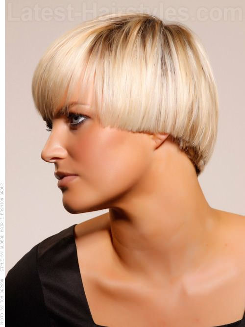Prime Blonde Bombshell Modern Sexy Fall Season Look Side View Pin It By Short Hairstyles Gunalazisus