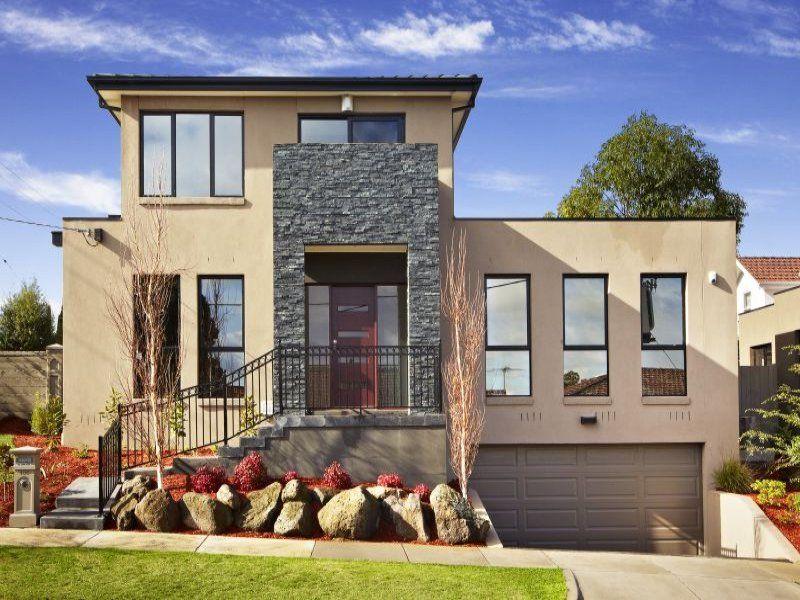 House Facade Ideas   Exterior House Design And Colours Good Looking
