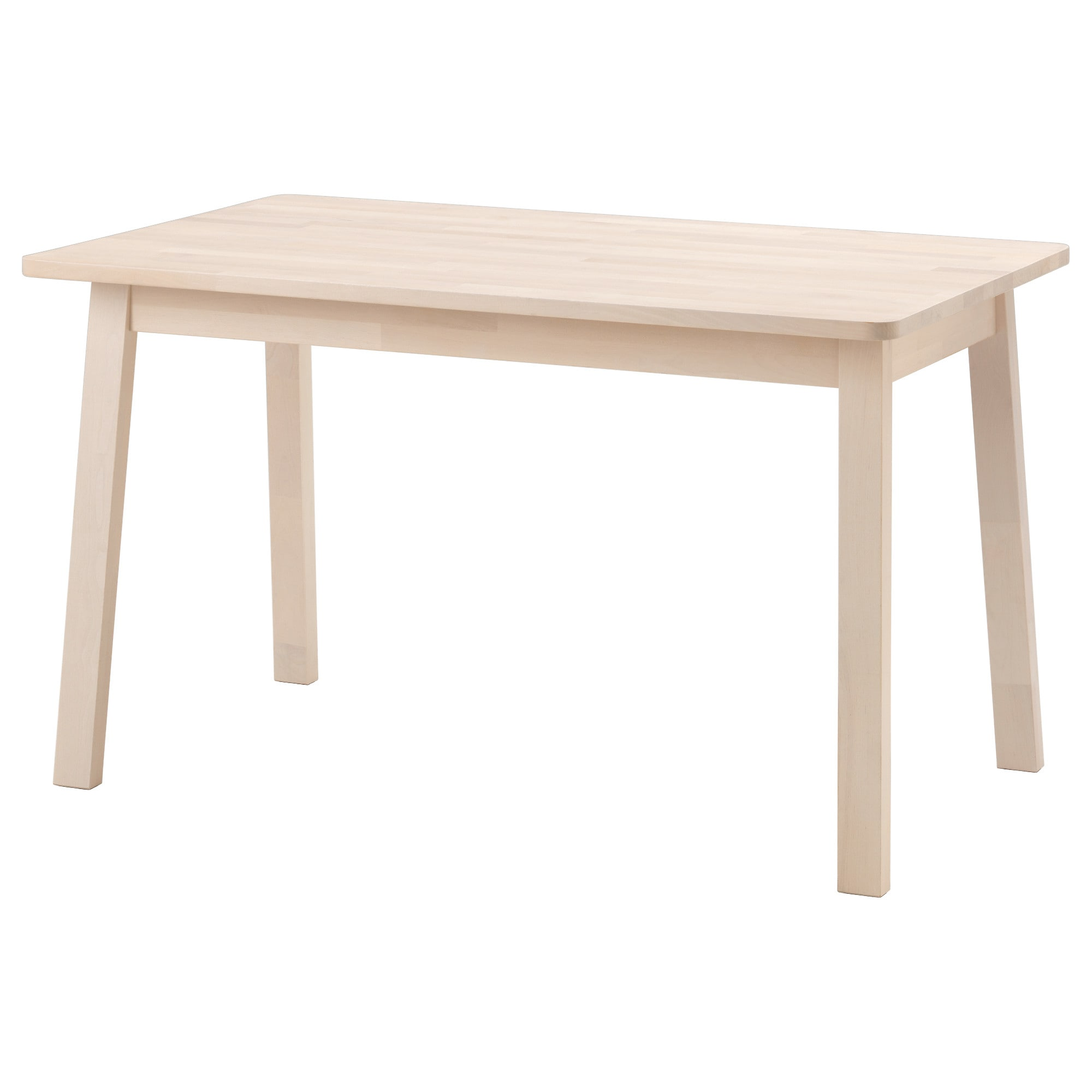 Norr ker table white birch whitepine space table ikea table bois mobilier de salon - Table de salon ikea ...