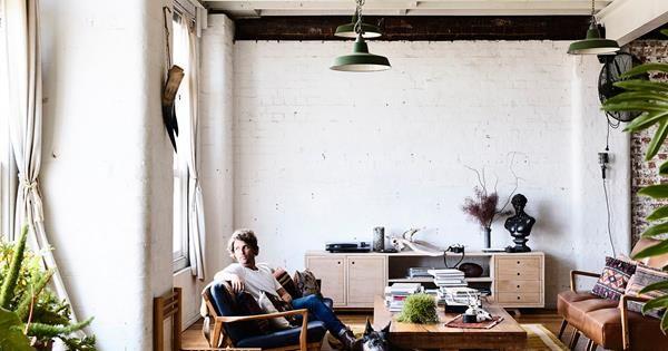 Melbourne furniture maker nick mcdonald of made by morgen invites us melbourne furniture maker nick mcdonald of made by morgen invites us inside his warehouse home and stopboris Choice Image