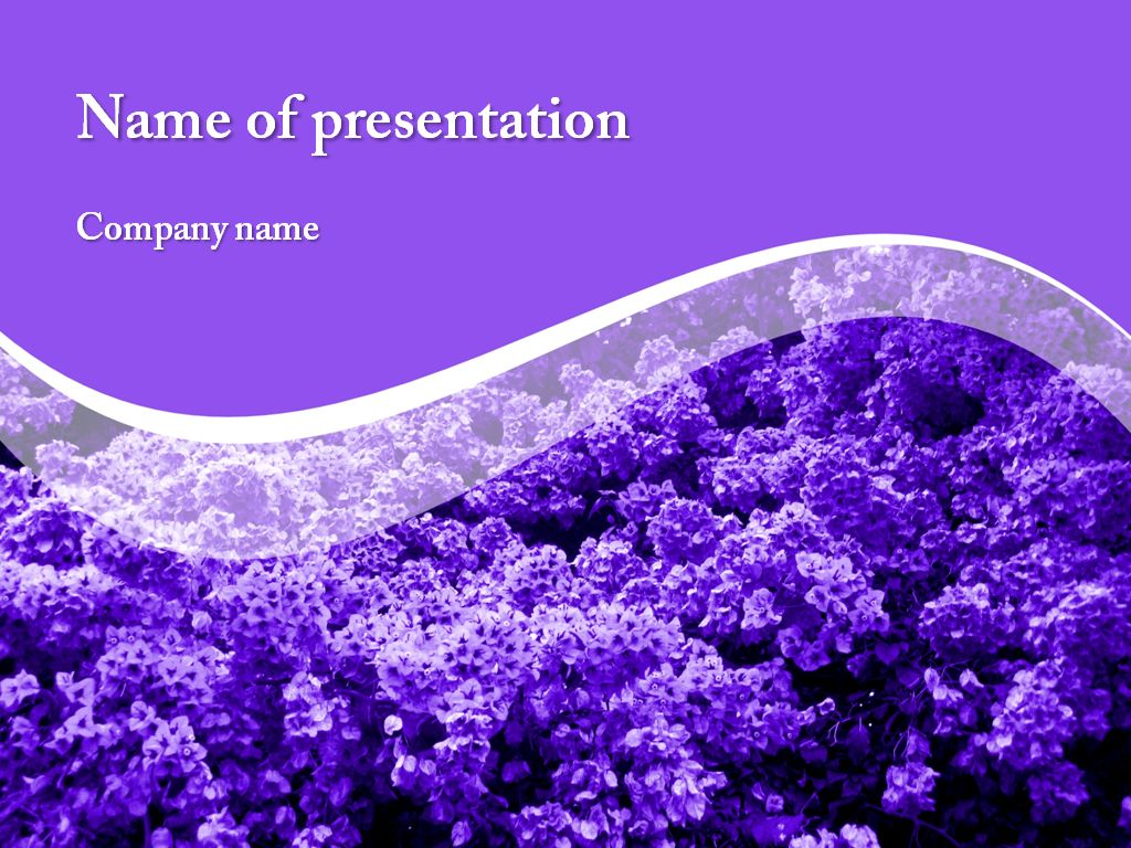 Spring Flowers Powerpoint Powerpoint Templates Powerpoint
