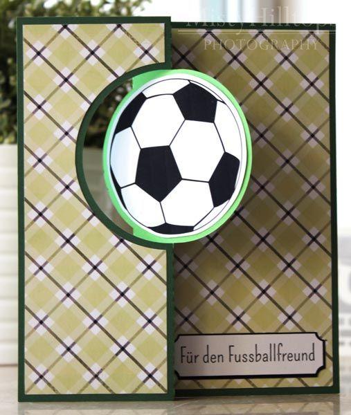 Hybrid Hub Greeting Card For The Soccer Fan Flip Cards Greeting Cards Diy Birthday Cards For Men