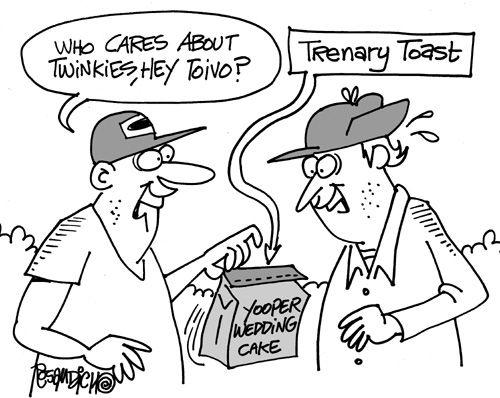 Yooper Cartoons About Yoopers And Upper Michigan Yooper Yooper Humor Michigan