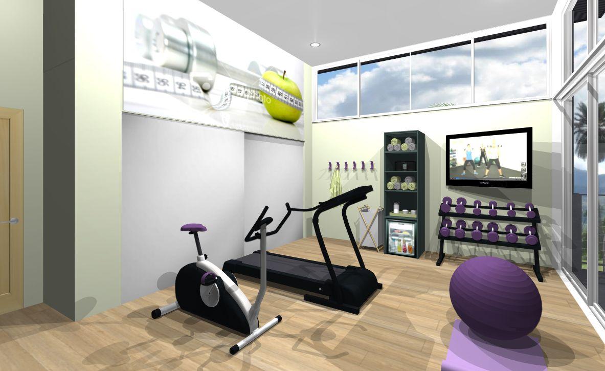 Splash House Home Gym Design - by Emily.Design | S P L A S H ...