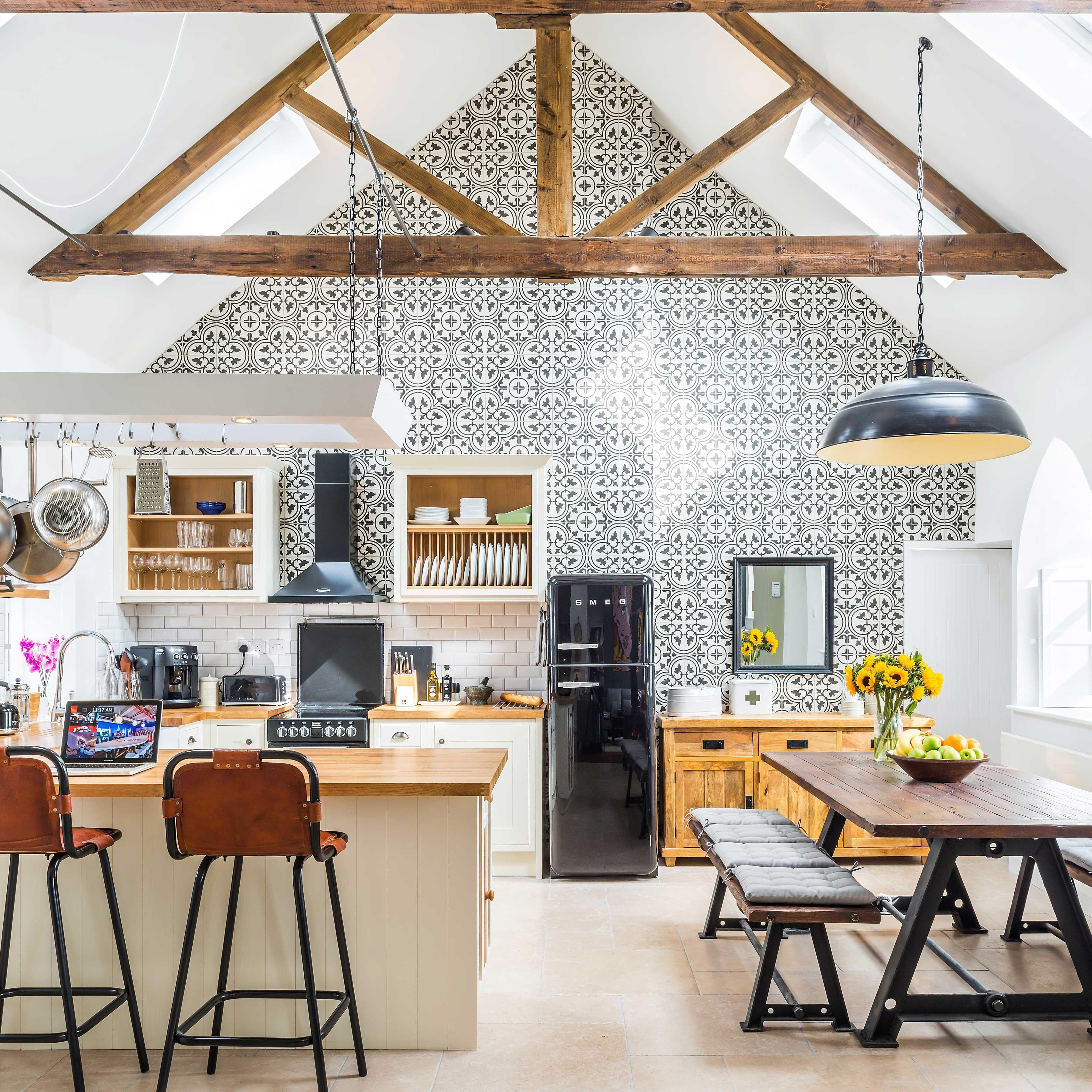 Cozy & quirky kitchen/dining in a converted chapel in Barnard Castle ...